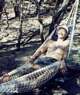 Alan in Hammock